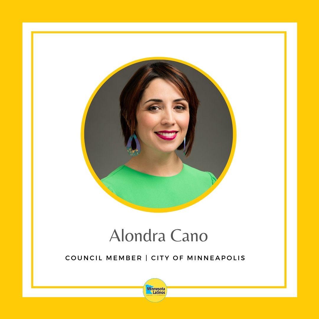 Alondra Cano Minneapolis City Council Member