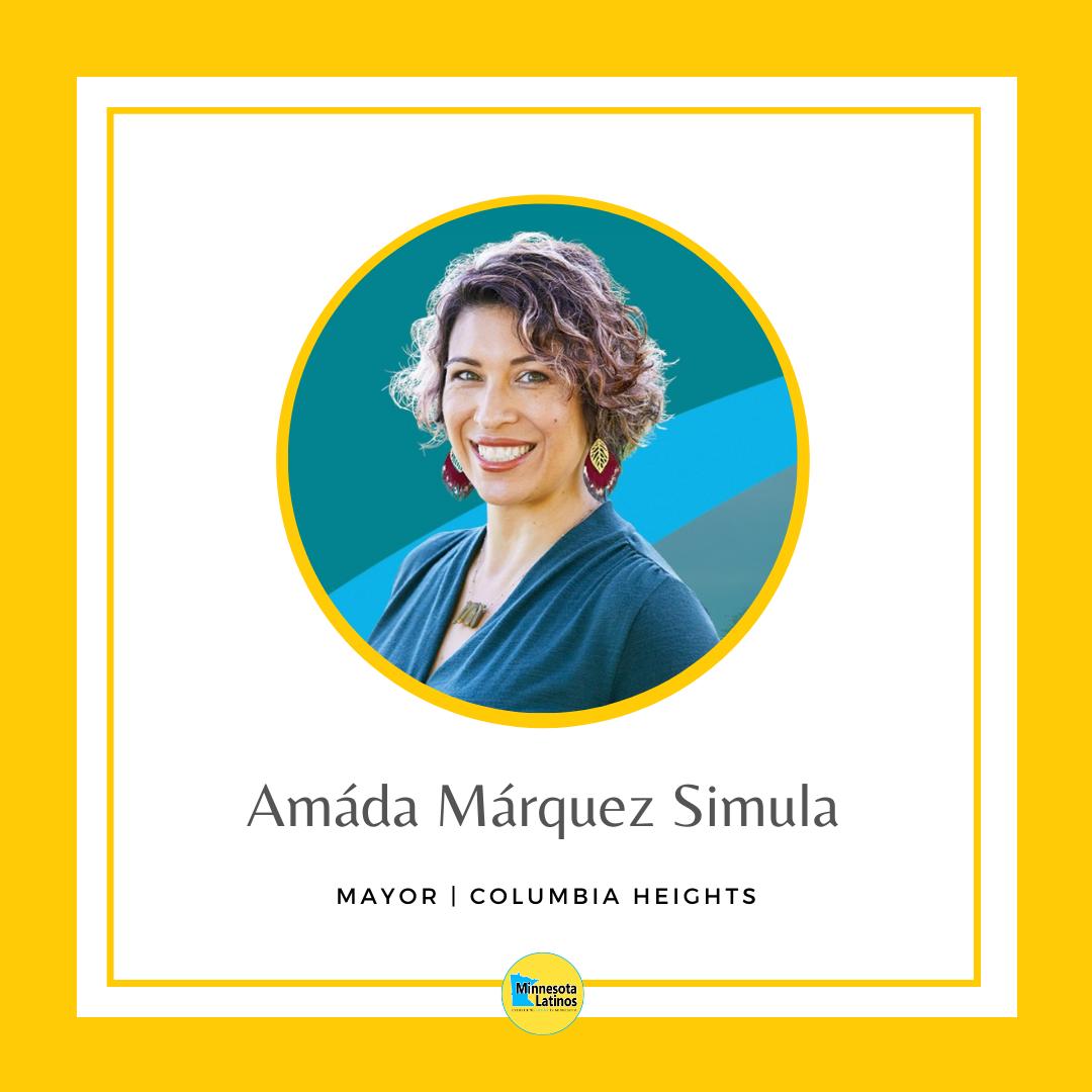 Amada Marquez Simula mayor of columbia heights