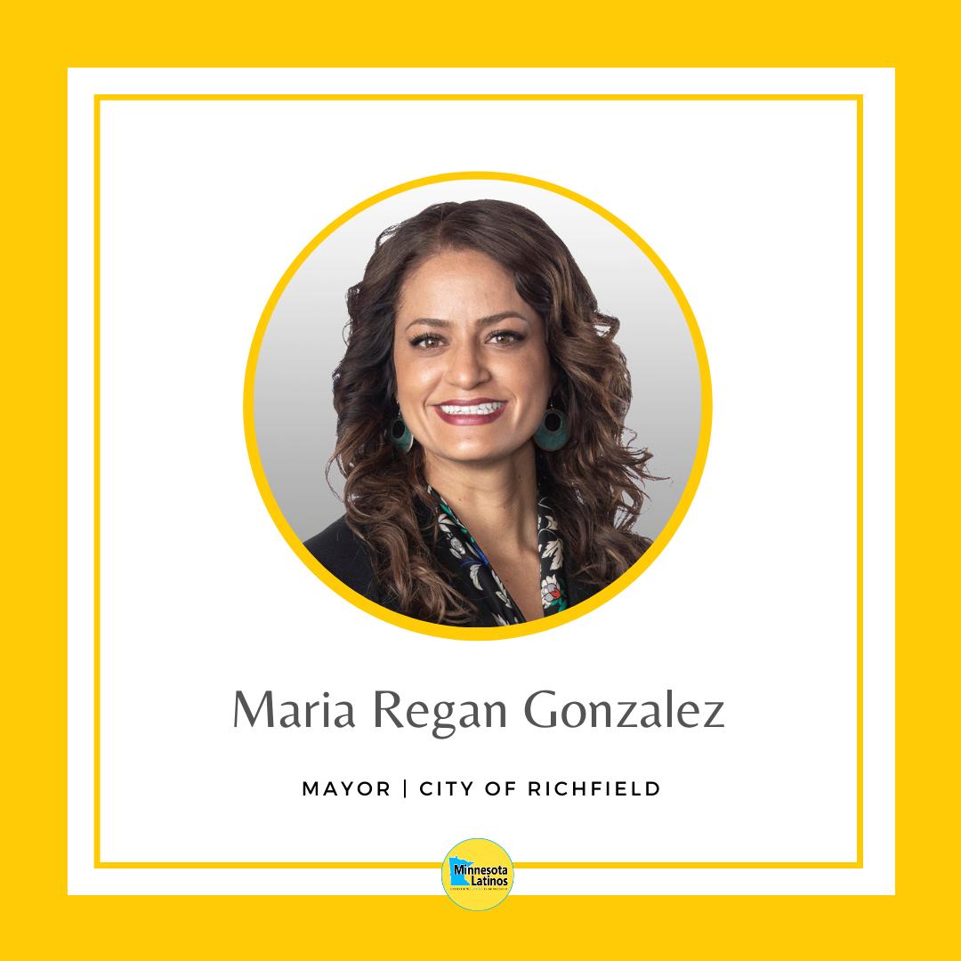 Maria Regan Gonzalez mayor of richfield