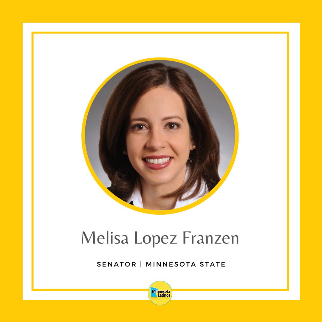 Melisa Lopez Franzen - MN senator