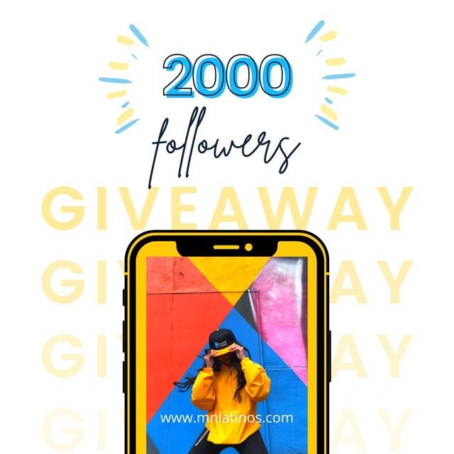 giveaway april 2021 on instagram flyer